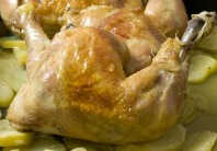 crockpot roast chicken recipe