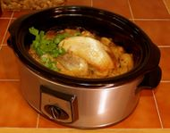 crock pot chicken casserole recipe